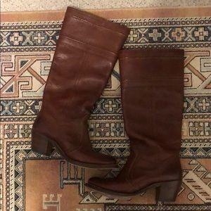 Vintage Cognac Frye Campus Boot size 7